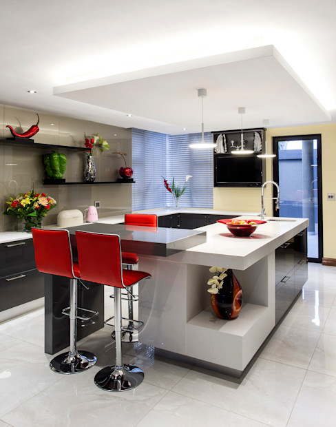 FRANCOIS MARAIS ARCHITECTS 現代廚房設計點子、靈感&圖片