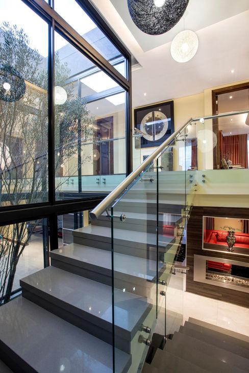 FRANCOIS MARAIS ARCHITECTS Pasillos, vestíbulos y escaleras de estilo moderno