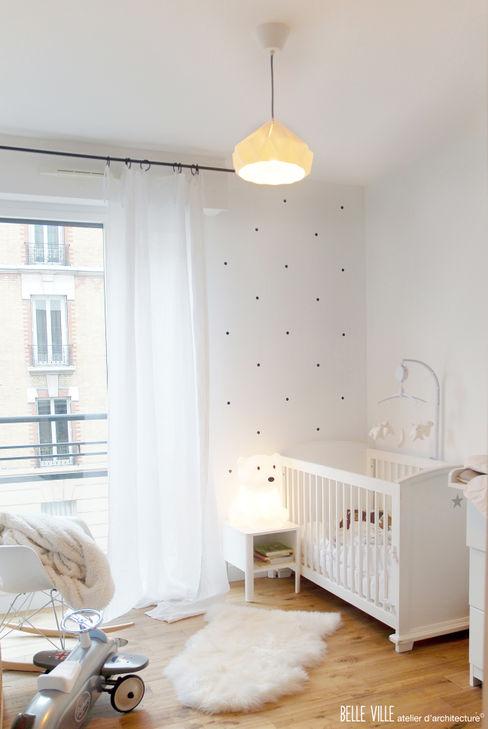 Belle Ville Atelier d'Architecture Спальня