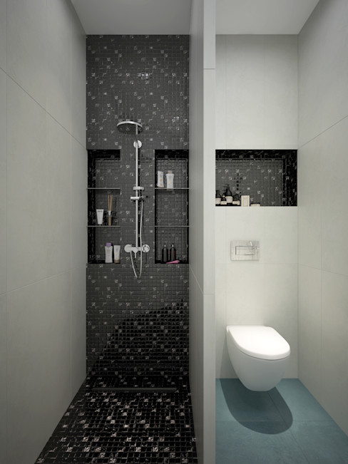 Rubleva Design Modern bathroom