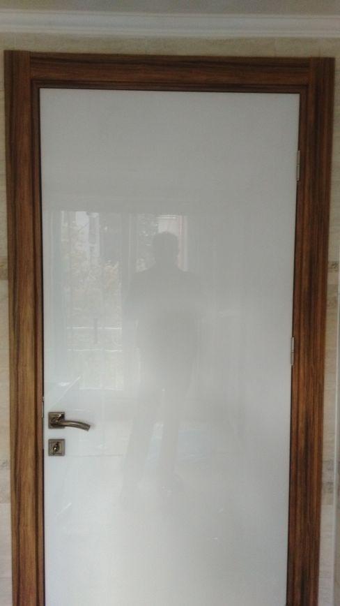 illuminated Acrylic Door / Işıklandırılmış Akrilik Yüzeyli Kapı FG Plastech Industrial Plastic Sheets Pencere & KapılarKapılar