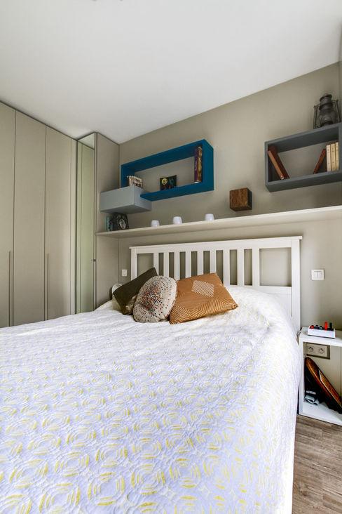 Nation (rénovation d'appartement) deSYgn by JM2 Chambre moderne