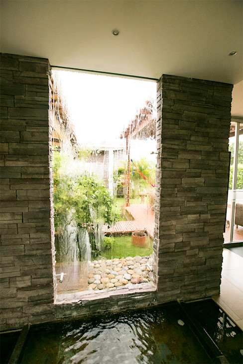 Arquitectura Positiva Tropical style garden