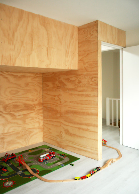 Karel Doormanlaan studioquint Moderne kinderkamers Hout Hout