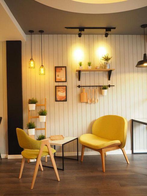 box89 furniture Bars & clubs Wood Yellow