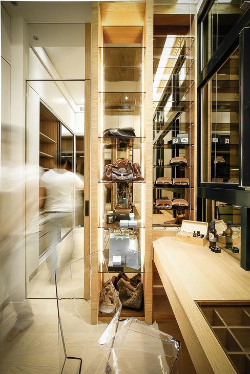 BRAVO INTERIOR DESIGN & DECO NEW JP STYLE 璞碩室內裝修設計工程有限公司 Asian style dressing room