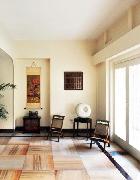 Dhruva Samal & Associates Ruang Keluarga Gaya Kolonial