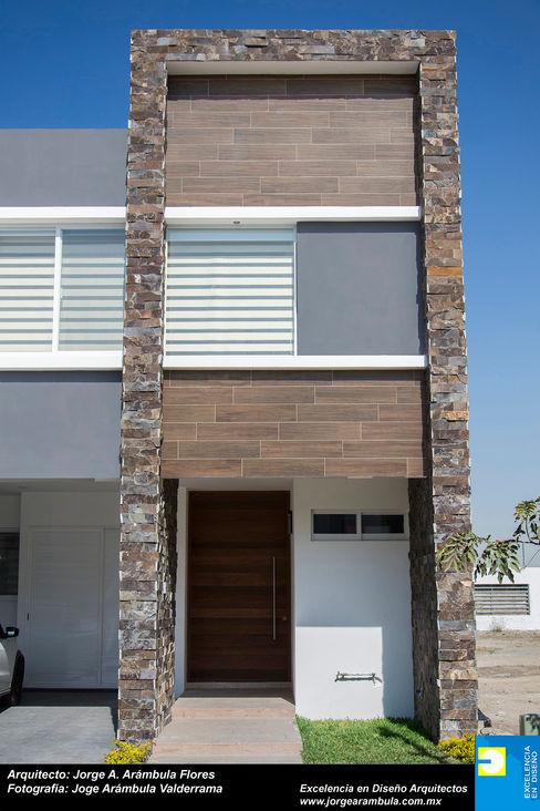 Excelencia en Diseño Minimalist house Stone White