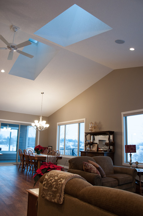 Main Floor Living Space Drafting Your Design Skylights