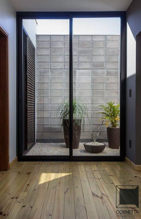 Jardim Interno Cornetta Arquitetura Jardins de inverno modernos