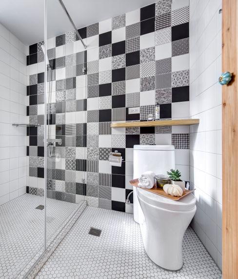 二手屋的小清新旅程 磨設計 浴室