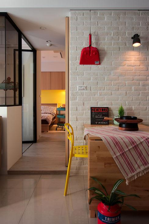 餐廳 一葉藍朵設計家飾所 A Lentil Design Scandinavian style dining room