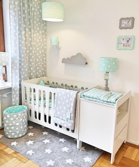 Moonlight Cot Bed homify Baby room Wood White