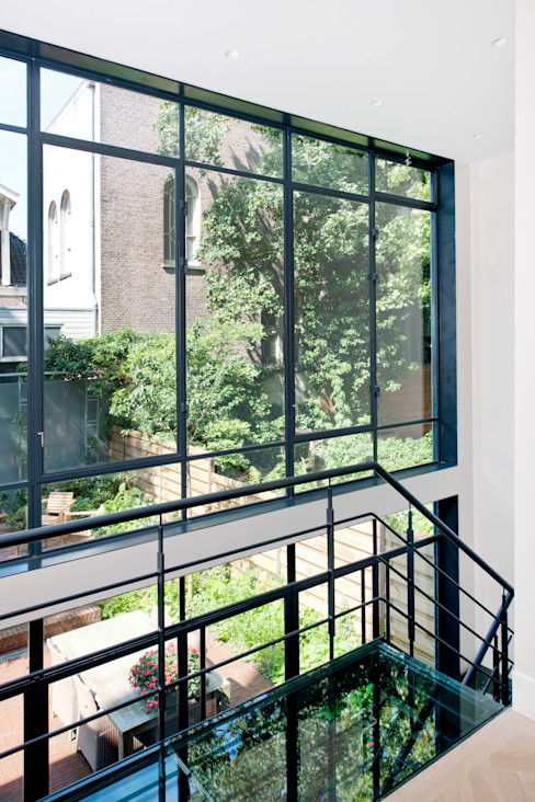 klassiek staal Studio Kuin BNI Industriële huizen Metaal Grijs