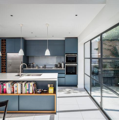 Slot House, London W12 AU Architects Cocinas de estilo moderno