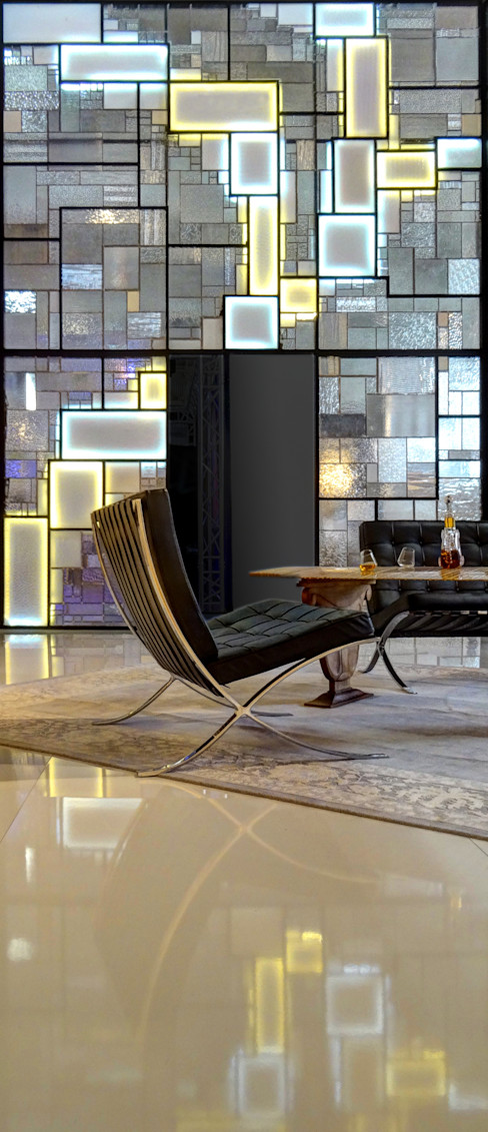"""Eden"" Cloison créative lumineuse ""ON/ME Light"" 01 ON-ME Hôtels modernes"