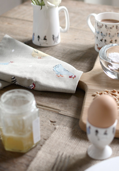 Sophie Allport's 'Lay a little egg' collection Sophie Allport KitchenCutlery, crockery & glassware Ceramic Beige