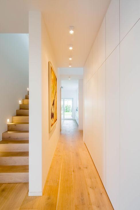 Ferreira | Verfürth Architekten Pasillos, vestíbulos y escaleras de estilo moderno