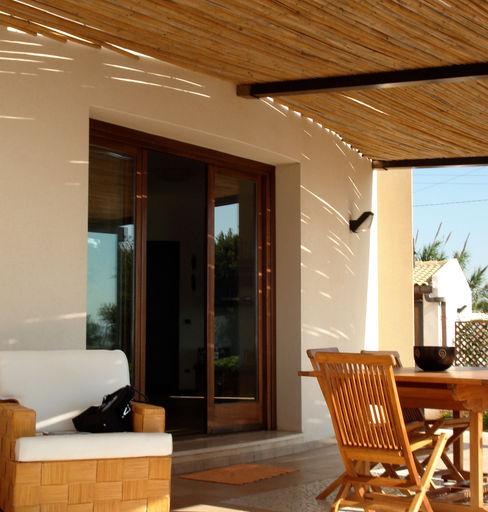 MEF Architect Balcones y terrazasAccesorios y decoración Bambú Blanco