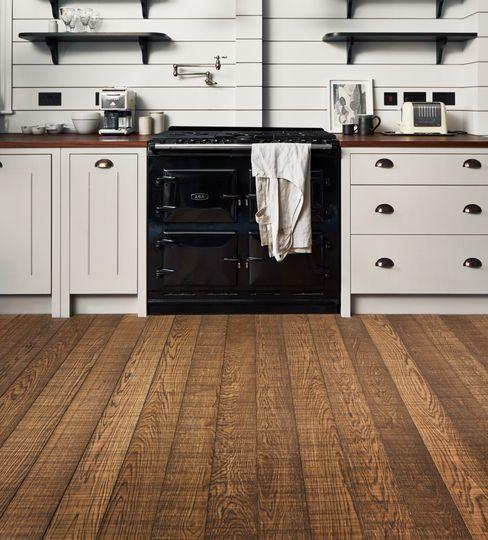 Oak Bandswan Antique The Natural Wood Floor Company Walls & flooringWall & floor coverings Engineered Wood Brown