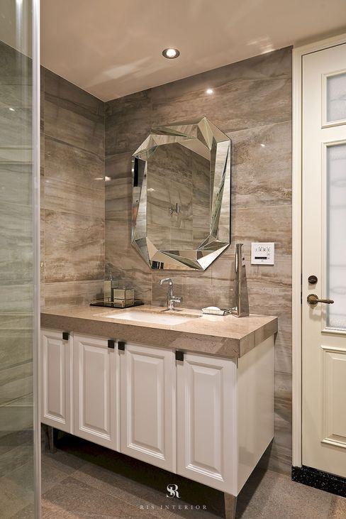 理絲室內設計有限公司 Ris Interior Design Co., Ltd. BathroomSinks