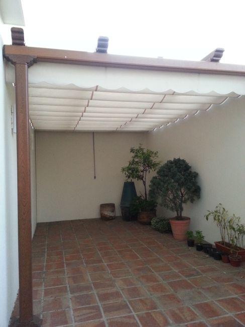 Ayuso Euro Systems Balcon, Veranda & Terrasse modernes
