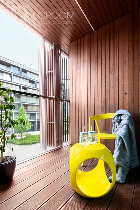Pracownia Architektury Wnętrz Decoroom Scandinavian style bedroom