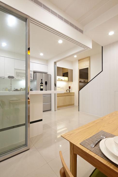 1F廚房 映荷空間設計 Modern kitchen