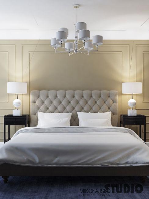 MIKOŁAJSKAstudio Dormitorios de estilo clásico
