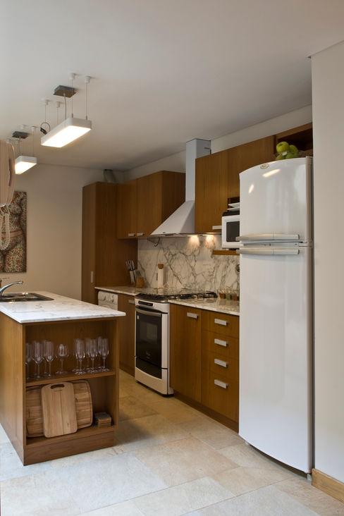 ARQUITECTA MORIELLO 現代廚房設計點子、靈感&圖片