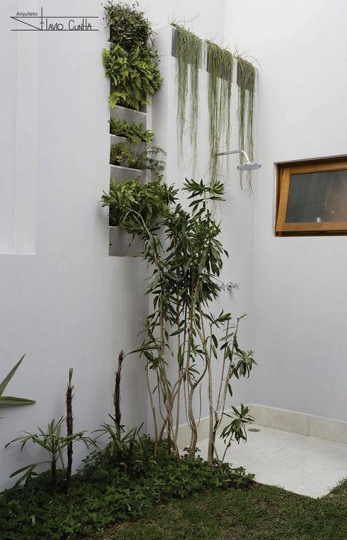 SET Arquitetura e Construções 庭院