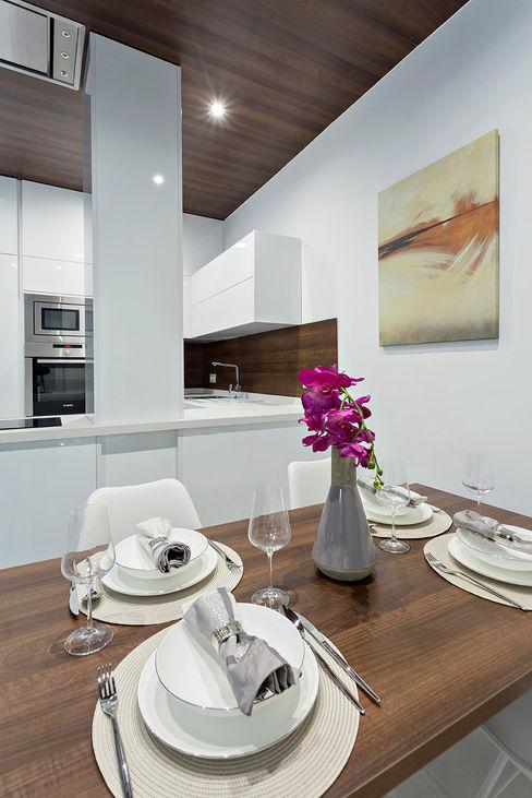 PL Architecture Sala da pranzo minimalista