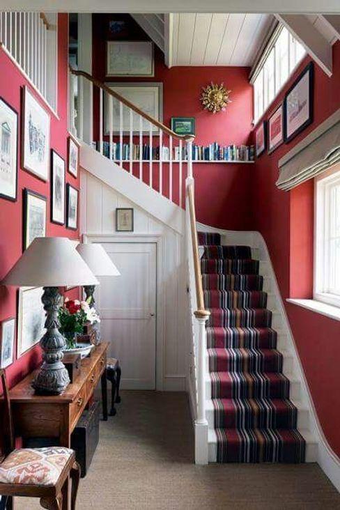 Lux-Design-Living Klassieke gangen, hallen & trappenhuizen Hout