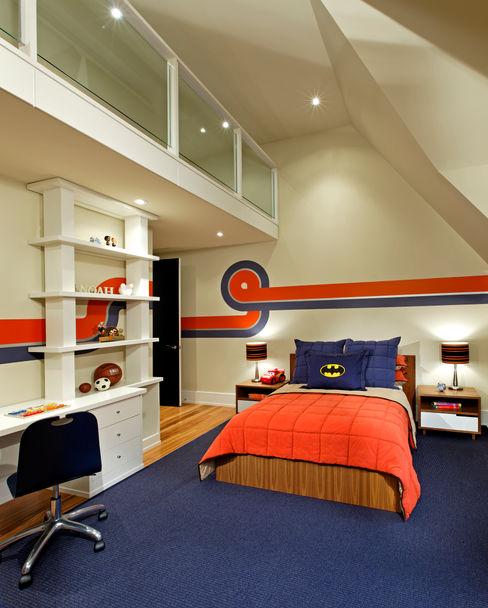 Douglas Design Studio Moderne Schlafzimmer Orange