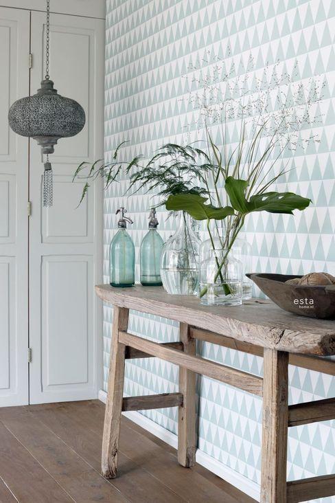 ESTAhome.nl Walls & flooringWallpaper Green