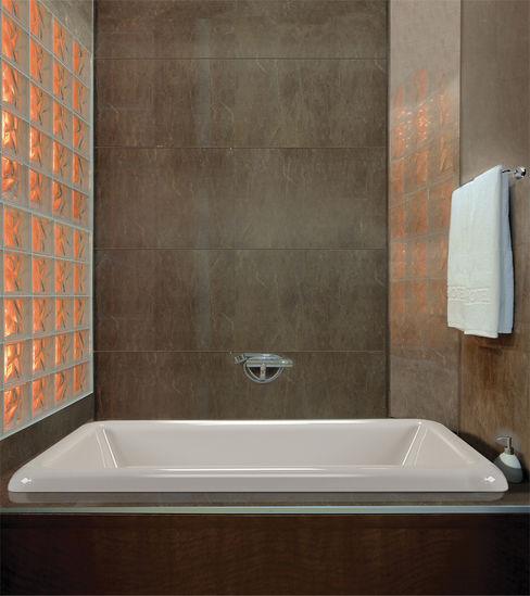 Serenity Bath モダンスタイルの お風呂