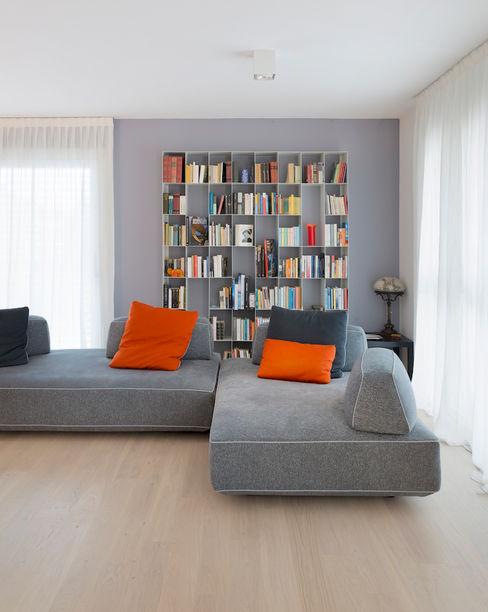 Studio Ecoarch Moderne Wohnzimmer