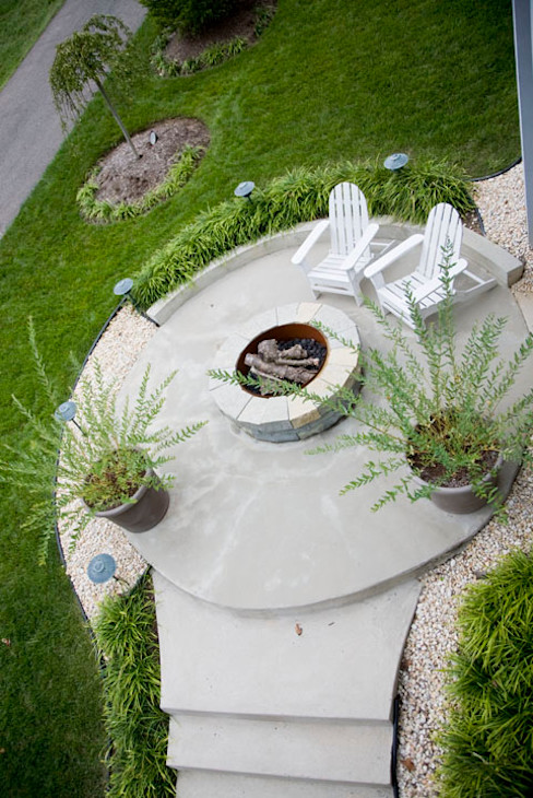 Lake Barcroft Residence FORMA Design Inc. Modern Terrace