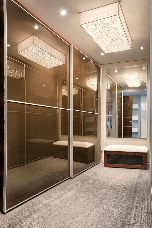 House Couture Interior Design Studio BedroomWardrobes & closets