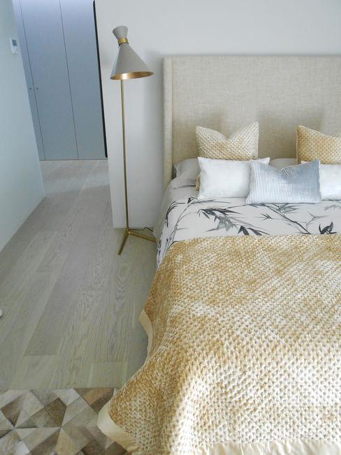 Tangerinas e Pêssegos - Design de Interiores & Decoração no Porto Chambre moderne Bois Beige