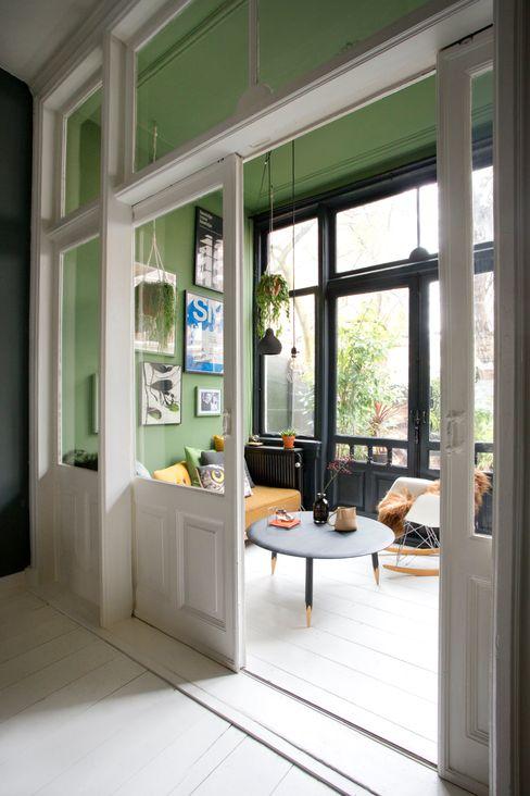 Tuinkamer FORM MAKERS interior - concept - design Eclectische serres Kalksteen Groen
