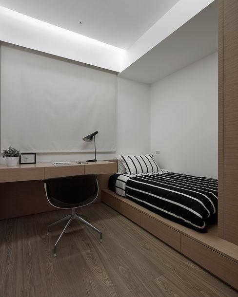 沐禾設計事務所 Chambre moderne