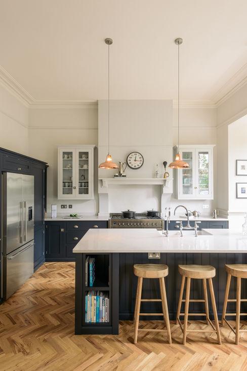 The Crystal Palace Kitchen by deVOL deVOL Kitchens Kitchen units Blue
