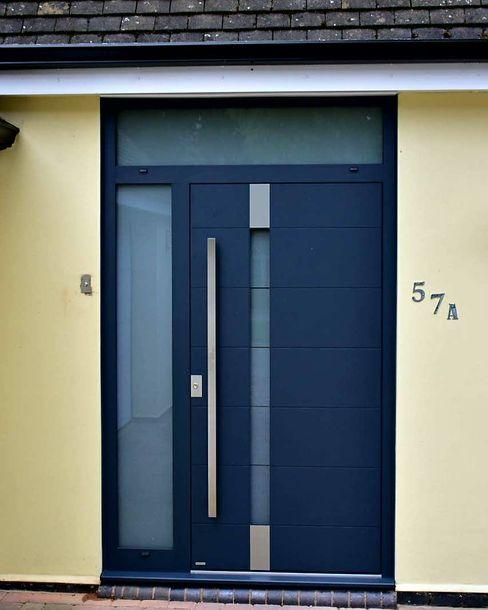 General Images RK Door Systems Front doors Aluminium/Zinc Grey