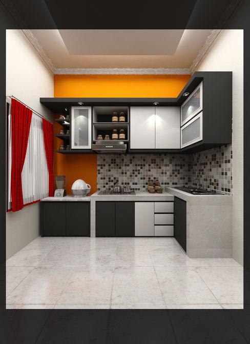 Kitchen Bpk. Indra SUKAM STUDIO Dapur Minimalis