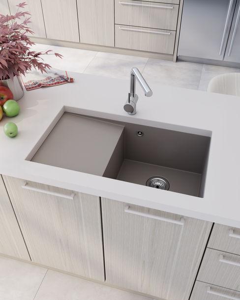 A3D INFOGRAFIA 現代廚房設計點子、靈感&圖片