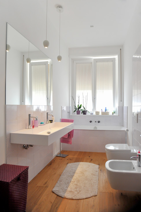 LAB87 Modern Bathroom Ceramic Purple/Violet
