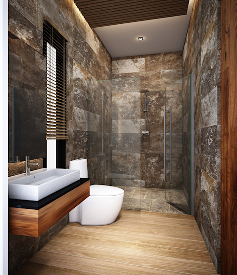 Zero field design studio ห้องน้ำ