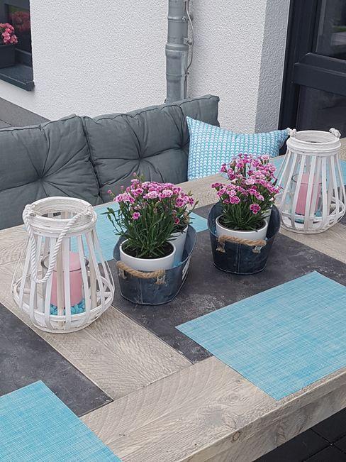 Klein aber Fein Pomp & Friends - Interior Designer Balkon, Veranda & Terrasse im Landhausstil