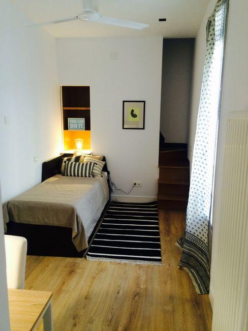 REFORMA INTEGRAL EN MADRID DOMUS NOVA Dormitorios infantiles de estilo ecléctico